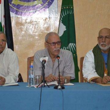 El Presidente de la República preside una reunión del Consejo de Ministros. | Sahara Press Service