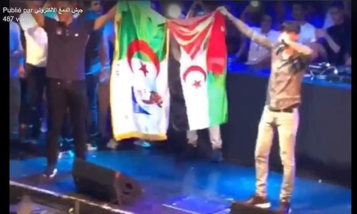 La bandera del Sahara ondeada en un concierto en España, objeto de polémica | Periodistas en Español