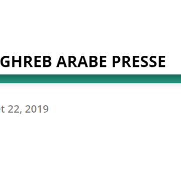 Articles récents – MAGHREB ARABE PRESSE – 22/07/2019