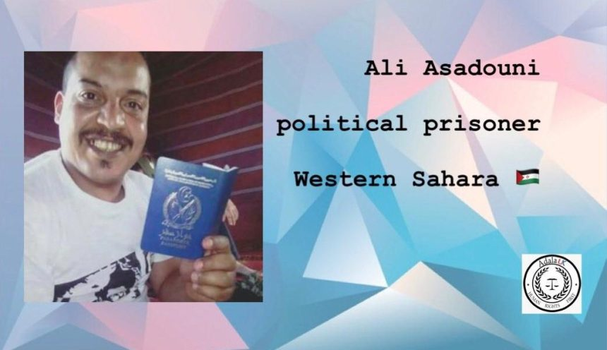 CALL FOR ACTION: ALI SAADOUNI – Human Rights for Western Sahara