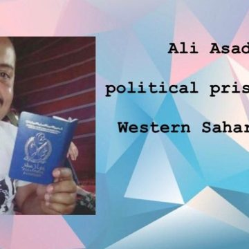 CALL FOR ACTION: ALI SAADOUNI – Human Rights for Western Sahara