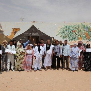 Campamentos de refugiados saharauis: fin del curso 2018-2019 en la escuela de cine del Sahara