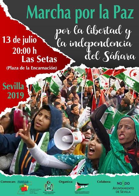 Sahara Sevilla: MARCHA POR LA PAZ 2019 SÁBADO 13 DE JULIO