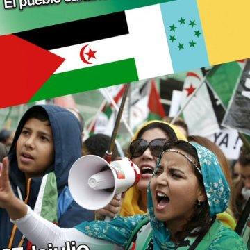 LAS PALMAS DE GRAN CANARIA / Concentración: ¡El pueblo canario con el pueblo saharaui! 27 de julio a las 12 de la mañana
