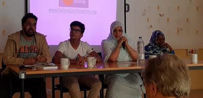 """Poemario por un Sahara Libre: Presentación en Madrid del informe: """"El espejismo de los derechos humanos: La juventud saharaui y la ocupación del Sahara Occidental"""""""