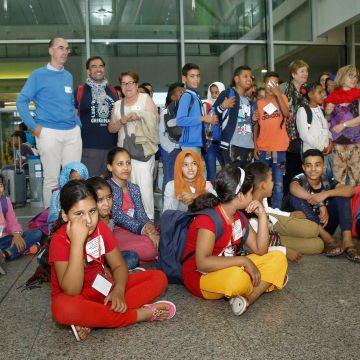 Santiago:La comarca bate un récord de acogida de niños saharauis desde que empezó la crisis