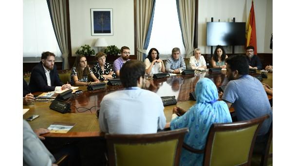 Jóvenes saharauis denuncian la violación de una veintena de derechos por la «ocupación» – Noticias – Informativos RTVC.es