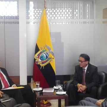 Embajada de la RASD visita Comisión de Relaciones Internacionales de la Asamblea Nacional del Ecuador | Sahara Press Service