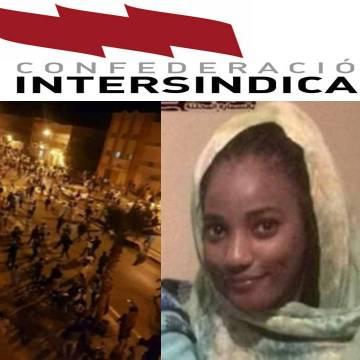 La Confederación Intersindical condena asesinato de la joven saharaui y la represión en las ZZ.OO del Sahara Occidental | Sahara Press Service