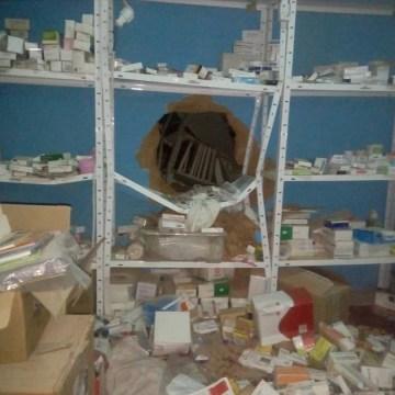 Destruyen intencionadamente la consulta, almacén y biblioteca del dispensario de Castro en el campamento saharaui de Smara