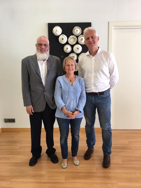 El alcalde de Logroño se reúne con el delegado saharaui