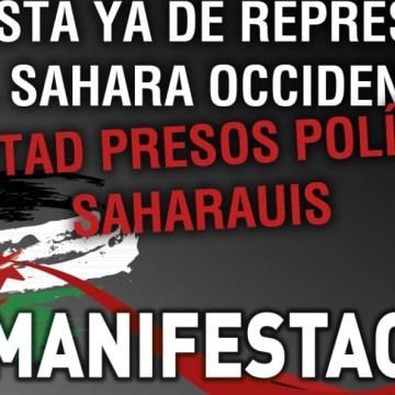 Gijón, 1 de septiembre: MANIFESTACIÓN POR LA LIBERTAD DE LOS PRESOS POLÍTICOS SAHARAUIS