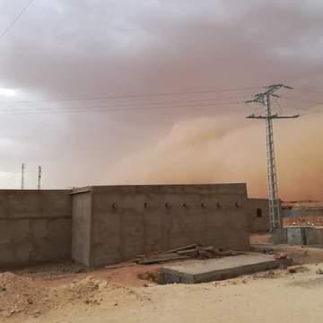 Intensas tormentas en los campamentos de refugiados saharauis