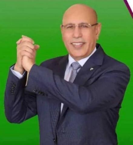 El presidente de Mauritania aprecia participación del Presidente de la República en su ceremonia de investidura | Sahara Press Service