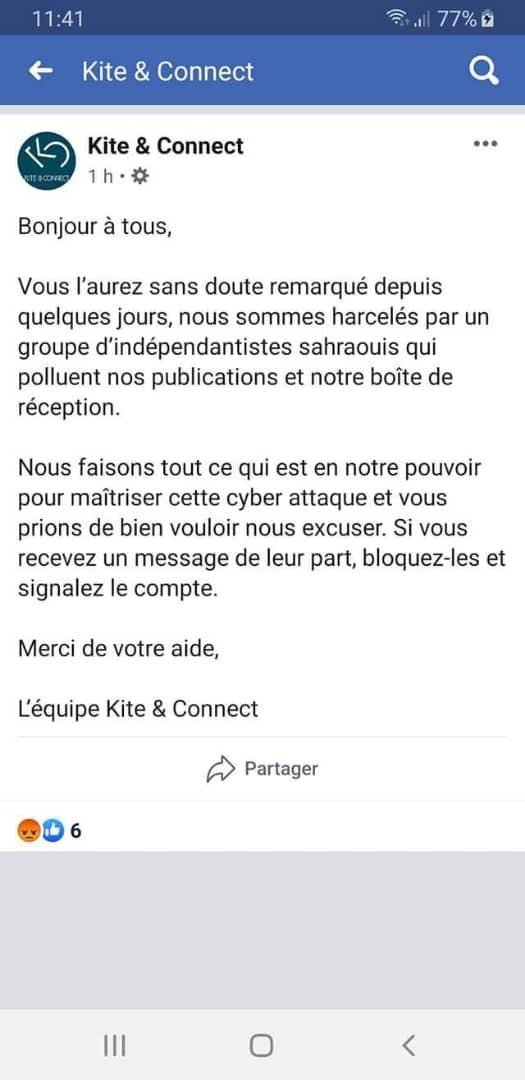 B2B Sommet de #Kitesurf ferme sa page Facebook suite à sa peur du scandale | freedomsupport