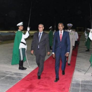 Sahrawi President arrives in Nouakchott to attend the inauguration ceremony of the President-elect, Mr. Mohamed Ould Cheikh El Ghazwani | Sahara Press Service