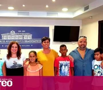 Cinco niños saharauis pasan el verano en Guillena gracias al programa vacaciones en paz