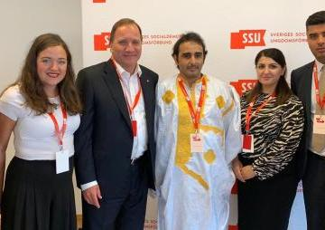 UJSARIO attends Swedish Social Democratic Youth Congress and calls on Swedish Prime Minister to recognize SADR   Sahara Press Service