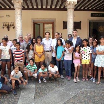 Valladolid recibe 42 niños saharauis del programa Vacaciones en Paz, la provincia de CyL que más acoge