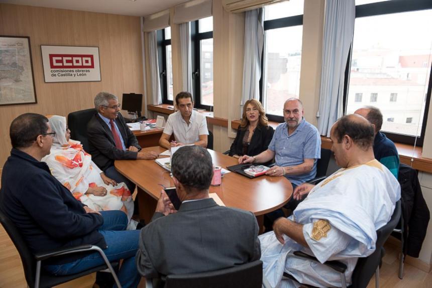 CCOO CyL reitera su firme apoyo a la lucha del pueblo saharaui por la autodeterminación e independencia   Sahara Press Service