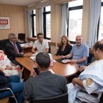 CCOO CyL reitera su firme apoyo a la lucha del pueblo saharaui por la autodeterminación e independencia | Sahara Press Service
