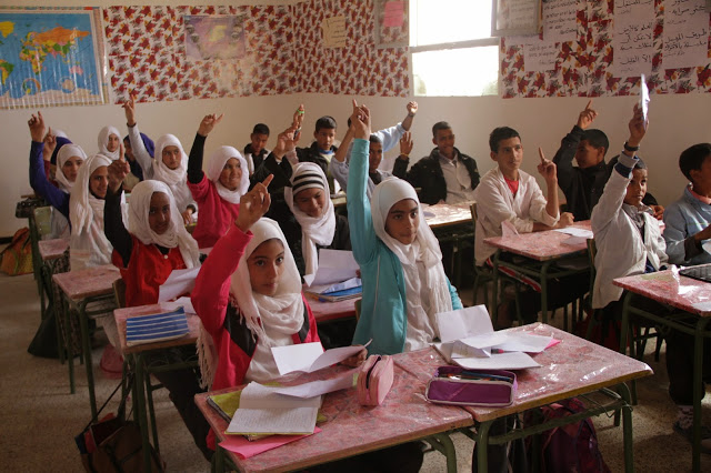 La vuelta al cole de los niños refugiados saharauis | ECS