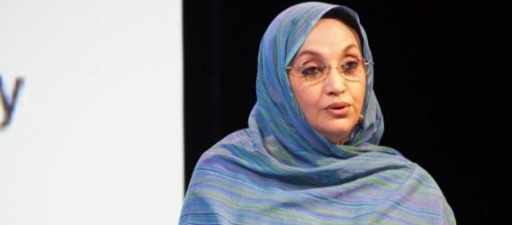 La militante sahraouie, Aminatou Haidar, lauréate du prix Nobel Alternatif   Sahara Press Service