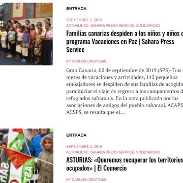 ¿Conoces nuestro Boletín de noticias diarias saharauis?