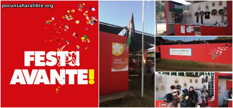 Delegación saharaui en «Festa do Avante» en Portugal | PUSL