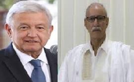 El presidente Brahim Gali felicita a su homòlogo mexicano por Día de la Independencia de México | Sahara Press Service
