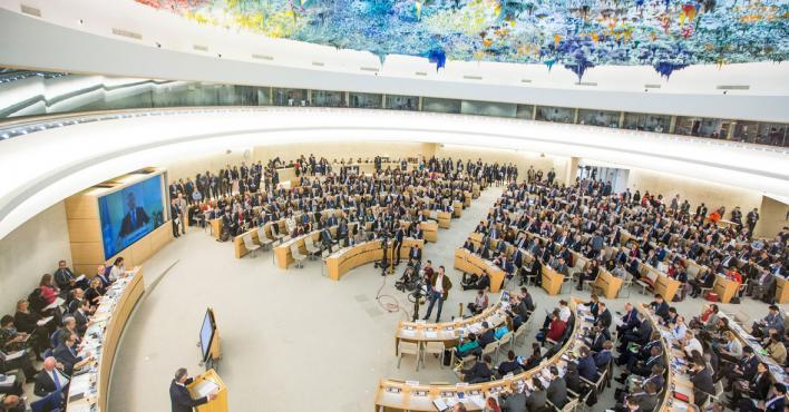 Representantes de la sociedad civil saharaui participan en la 42ª sesión del Consejo de Derechos Humanos de la ONU en Ginebra | ECS