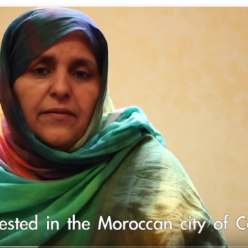 Zaynaha Sidi – Enforced disappearances in Western Sahara – #OpenScars
