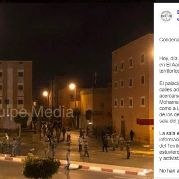 Equipe Media: condenados a penas de prisión por la manifestación del 19-J nueve jóvenes saharauis y un marroquí