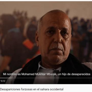Desapariciones forzosas en el Sahara Occidental – Mohamed Mokhtar (hijo de víctima)- #HeridasAbiertas #OpenScars