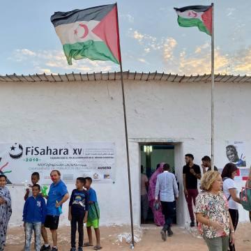 FiSahara inaugura su XV edición en el campamento de refugiados de Auserd | Sahara Press Service