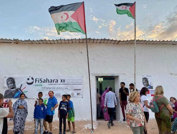 FiSahara inaugura su XV edición en el campamento de refugiados de Auserd   Sahara Press Service