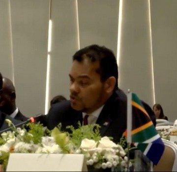 Sudáfrica reitera su apoyo al derecho del pueblo saharaui a la libertad y la libre determinación | Sahara Press Service