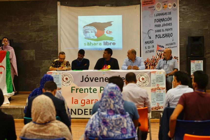 Inauguran en Madrid Jornadas de Formación para Jóvenes sobre el Frente Polisario organizadas por la LEJSEE