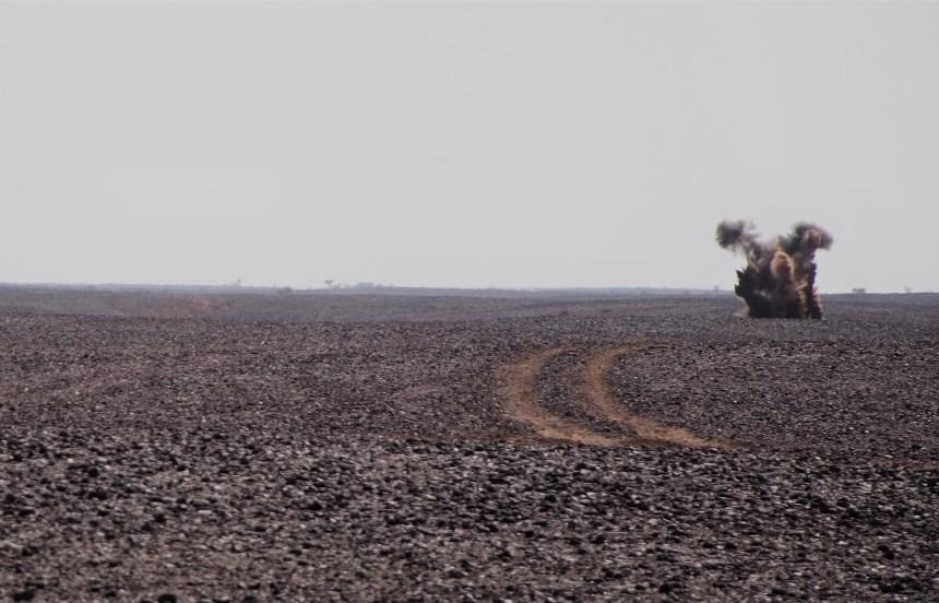 [Fotos] Así es el desminado humanitario en Sahara Occidental – Colombia Informa Medio Oriente