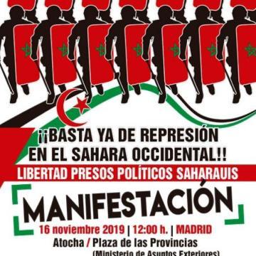 ¡Contra el desierto informativo del Sahara Occidental!