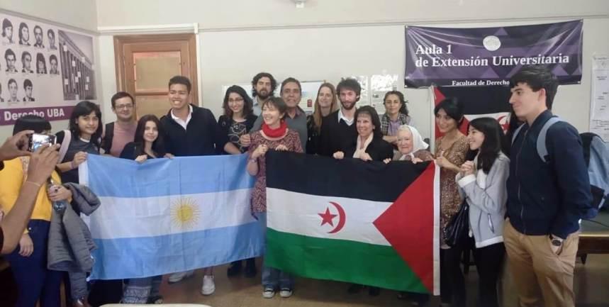 Universidad de Buenos Aires abre sus puertas a la causa saharaui y su lucha por la libertad e independencia | Sahara Press Service