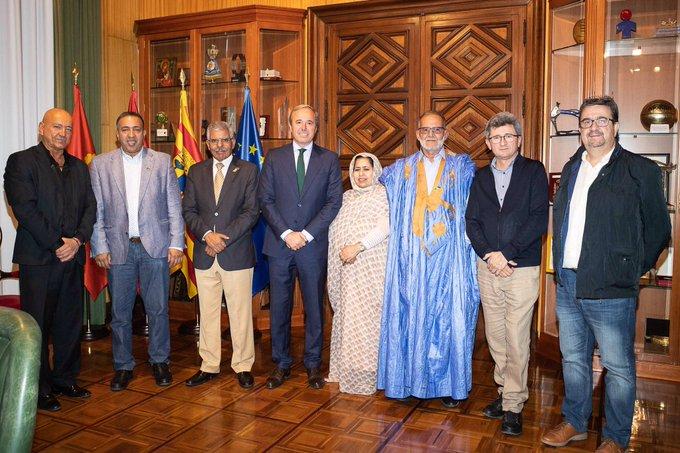 Alcalde de Zaragoza resalta el unánime apoyo a las reclamaciones del pueblo saharaui | Sahara Press Service