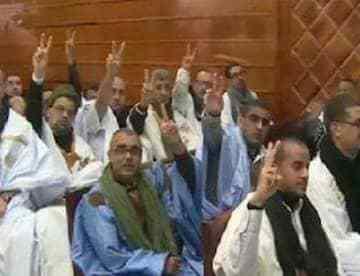 Les prisonniers politiques sahraouis de groupe de Gdeim Izik entament une grève de la faim | Sahara Press Service