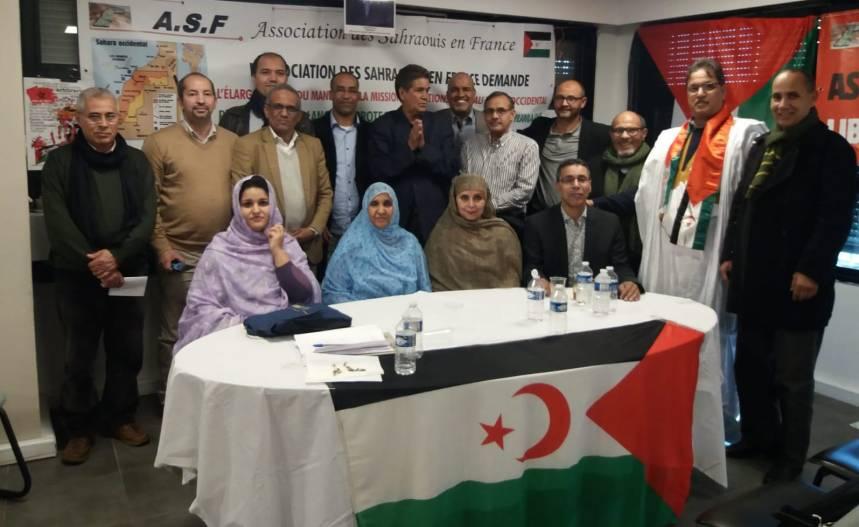 La comunidad saharaui en Francia reclama al Gobierno de Emmanuel Macron un rol constructivo en la búsqueda de una solución justa en el Sahara Occidental | Sahara Press Service