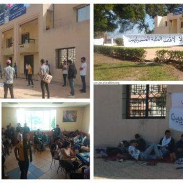 Estudiantes saharauis «sin derecho» a estudiar, en protesta desde hace más de dos semanas | PUSL
