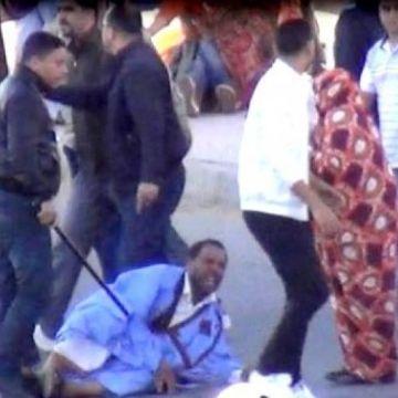 Répression brutale d'une manifestation pacifique des Sahraouis à El-Aaiun occupée   Sahara Press Service