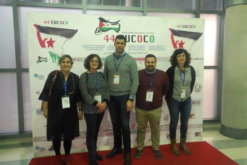 El Intergrupo Parlamentario asiste en Vitoria-Gasteiz a la 44 Conferencia Europea de Apoyo y Solidaridad con el Pueblo Saharaui (EUCOCO)   Parlamento de Navarra