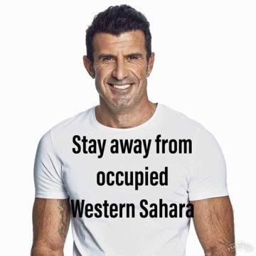 La prensa marroquí desmiente la presencia de David Beckham o Ronaldinho en la farsa futbolística con la que Marruecos celebra la ilegal ocupación del Sahara Occidental hace 44 años y anuncia la presencia de Luis Figo y otras ex «figuras» del balompié…