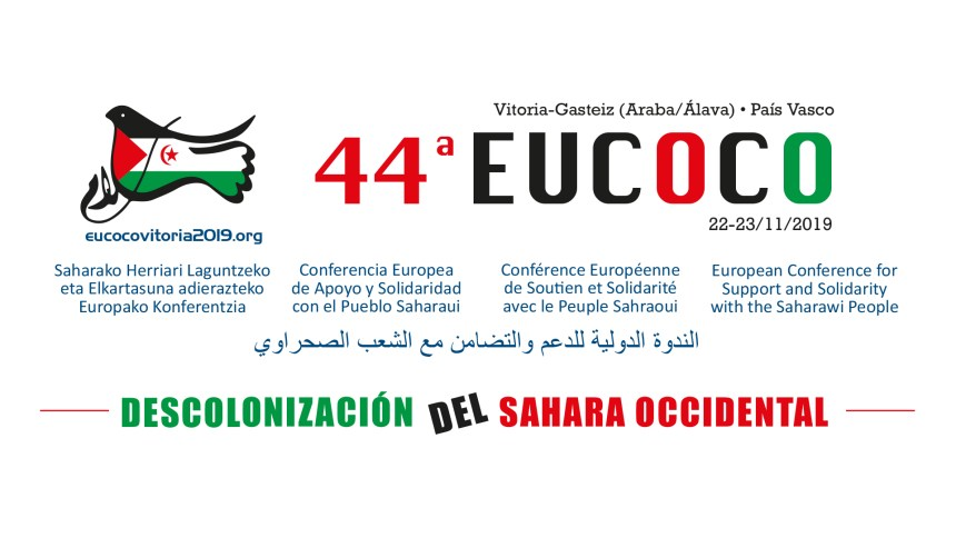 Declaración final: La 44ª EUCOCO exige a España que denuncie los acuerdos de Madrid por los que Marruecos justifica la ocupación del Sáhara Occidental