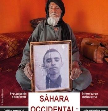 Vitoria acoge el informe 'Sáhara Occidental, un desierto para el periodismo' | Periodistas en Español